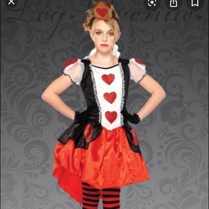 Queen of hearts wonderful Halloween costume